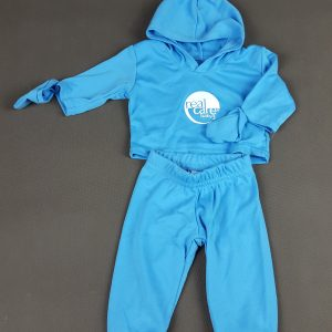 Outfit blau